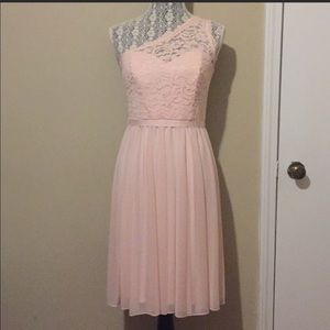 Size 6 David's Bridal Petal Dress